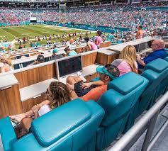 Sun Life Stadium Virtual Seating Chart Luxury Experience Hard Rock Stadium