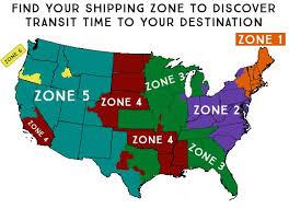 Ups Ground Chart Ups Ground Map Zones Americanstonecraft Com