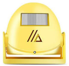 Yellow Office Wireless Welcome Alarm Doorbell For Home Shop Office Visitor Yellow