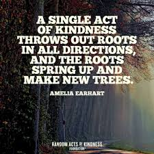 Looking for the best kindness quotes? Random Acts Of Kindness Kindness Quote A Single Act Of Kindness Throws Out