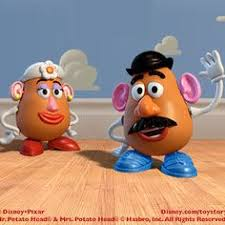 mr and mrs potato head.  And Mr Or Mrs Potato Head Costume On Mr And Mrs S