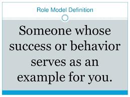 model essay role model essay