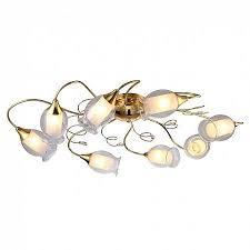 Потолочная <b>люстра Arte Lamp</b> Mughetto <b>A9289PL</b>-<b>8GO</b> - купить в ...
