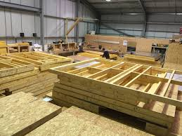 manufacturing timber frame construction