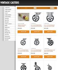 industrial furniture wheels. Vintage_Casters_Screenshot Industrial Furniture Wheels