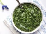 bechamel creamed spinach