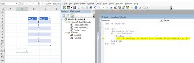 Excel New Line And Countif Function For Vba Stack Overflow