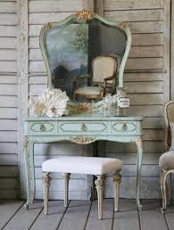 bedroom vintage home furniture of aqua painted small