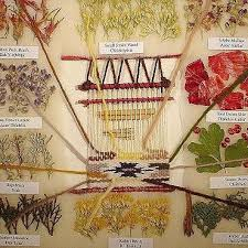 Navajo Dye Chart Wabi Sabi Danila Rumold