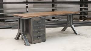 industrial style office furniture. Long Rustic Industrial Furniture Ideas Style Office