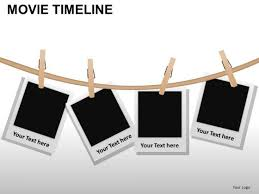 Movie Powerpoint Template Powerpoint Designs Teamwork Movie Timeline Ppt Theme