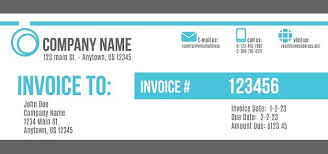 Electronic Invoice Template Short History Of Cool Invoices