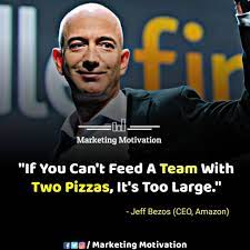 Jeff Bezos' 'two pizza rule' can ...