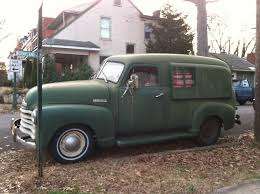 autoliterate: 1950 Chevrolet Thriftmaster Panel Truck conversion