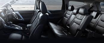 2018 mitsubishi pajero interior. delighful 2018 mitsubishi pajero sport rd row seat intended 2018 mitsubishi pajero interior