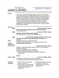 Resume For Construction