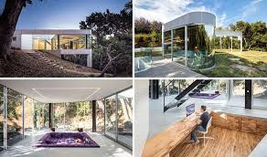 craig steely architecture have designed a modern house in cupertino california that faces a