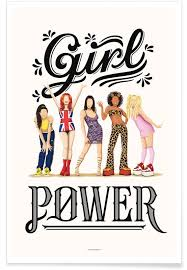 Girl Power As Poster By Nour Tohme Juniqe Uk