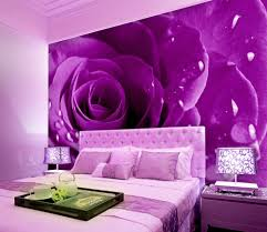 Pink And Purple Wallpaper For A Bedroom Popular Purple Bedroom Wallpaper Buy Cheap Purple Bedroom