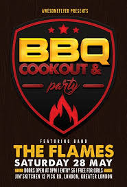 cookout fundraiser flyers freepsdflyer download the best free barbecue flyer psd templates