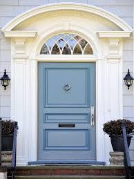 blue front doorLovely Colored Front Doors