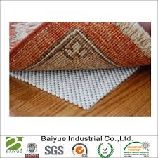 china 5 x 8 non slip rug pad for area rugs over carpet china pvc foam pad rug pad