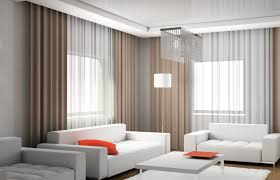 image of modern living room curtains ideas