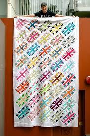 70 best Union Jack... images on Pinterest   Quilt blocks ... & TGIFF - Union Jack Surprise! Adamdwight.com