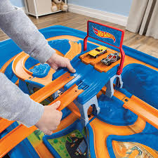 hot wheels car track play table