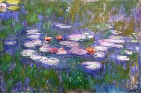 water lilies painter claude monet