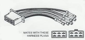 alternator wiring harness connectors for import vehicles part c940 wire harness repair connector