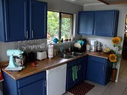 Blue Painted Kitchen Cabinets Fresh Idea To Design Your Glazed Kitchen Williams Retreat Blue