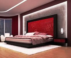 Red Bedroom Contemporary – Alternative Earth