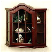 corner curio cabinets for white curio cabinet glass doors modern glass curio cabinet for