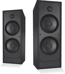 music speakers clipart. different speaker system design vector set music speakers clipart