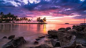 Beach Sunset Wallpaper For Desktop And ...