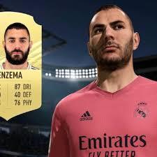 Benzema brilla en el equipo de la semana de FIFA 21