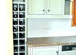 wine rack cabinet above fridge. Wine Rack Above Fridge Built In Racks For Kitchen Cabinets . Cabinet
