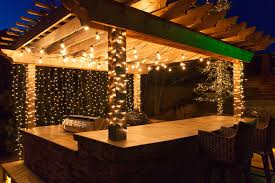 outside patio lighting ideas. deck lighting ideas to hang patio lights white mini and wrap columns outside l