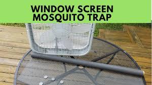 window screen box fan mosquito trap