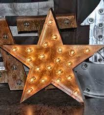 Nashville Sign Decor Metal Star Marquee Sign Home Decor Lighting Top Line 73