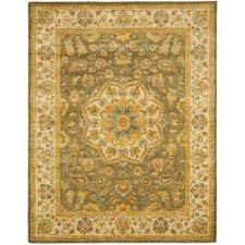 heritage green taupe 11 ft x 17 ft area rug