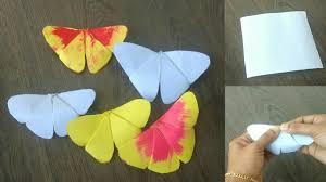 How To Make Butterfly With Chart Paper Make Beautiful
