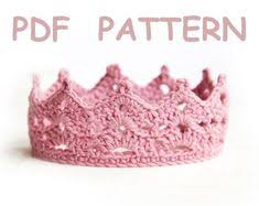 Crochet Crown Pattern Delectable Free Princess Crown Crochet Pattern Crochet Knitting Ideas