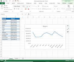 Excel Vba Solutions How To Create A Line Chart