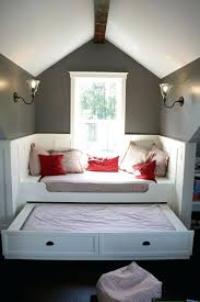 attic bedrooms with slanted walls liked