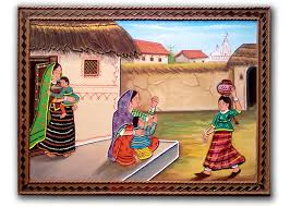 cultured rural indian mothers