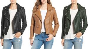 need to invest in another winter coat in january but here s one topper you need to up asap not only does this blanknyc faux leather moto jacket