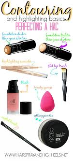 let s start with the basics get everything you need for a perfect contouring and highlighting job ready