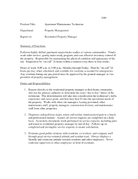 ... Apartment Maintenance Technician Resume Samples Beautiful 100 [ Resume  for Maintenance Worker ] ...